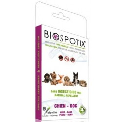 Pipetas Biospotix antiparasitario para perros