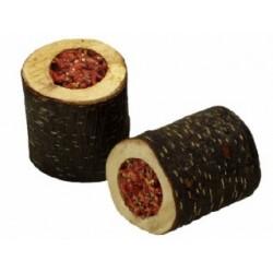 Rollito madera relleno de zanahoria