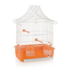Jaula Techo Barraca Mediana para pájaros