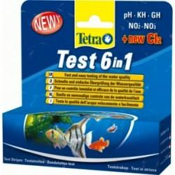 Tetra Test 6 en 1