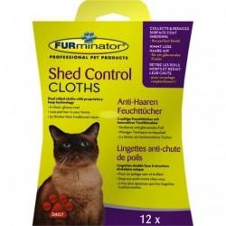 Paños Húmedos Antipelo Furminator para gato
