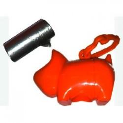 Perrito porta bolsas higiénicos