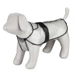 Impermeable transparente para perros