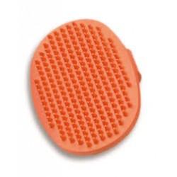 Cepillo manopla oval de caucho quitapelo