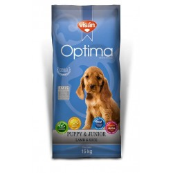 Visan Optima Cachorro Cordero y Arroz