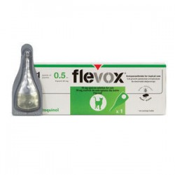 Pipeta Flevox perro 2 a 10 kg antiparasitos