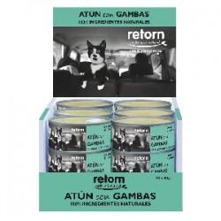 Retorn Atún con Gambas (Pack) comida natural para gatos