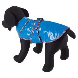 Impermeable azul para perros