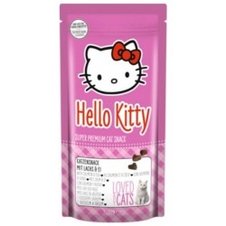 Snack Hello Kitty Salmón y Huevo para gatos