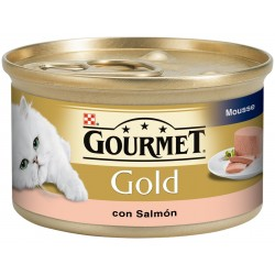Gourmet Gold Mousse con Salmón