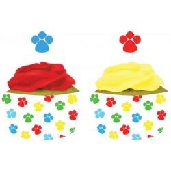 Cubre cupcakes perros