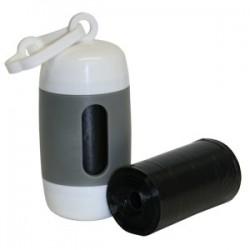 Soporte Barril + Bolsas recoge excrementos ( 2 rollo de 20 bolsas)