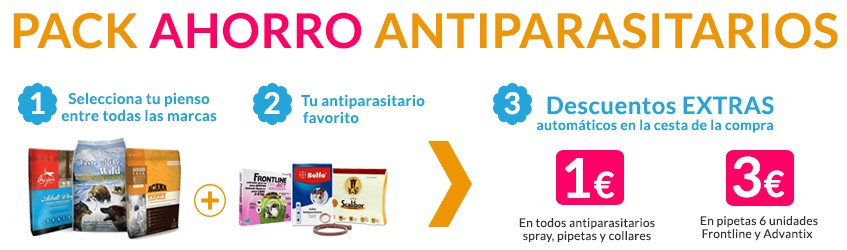 Oferta Antiparasitarios Vanypets.com