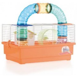 Jaula para Hamsters 1 Piso con Tubos