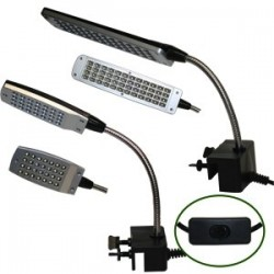 Lampara 28 Led Flexo para Acuarios