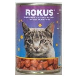 Latas Rokus sabor Atun para gatos
