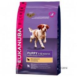 Eukanuba cachorro raza pequeña y mediana cordero y arroz