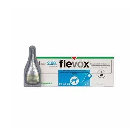Pipeta Flevox  perro 10 20 kg antiparasitos