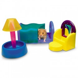 Set Salón para hamster, gerbos y ratones