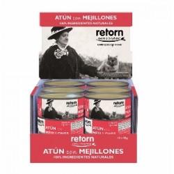 Packs Retorn Atún con mejillones comida natural para gatos