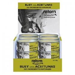 Retorn Buey con Aceitunas (Pack) comida natural para gatos