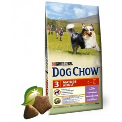 Dog Chow Adulto Mature Cordero +5