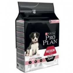Pro Plan Optiderma Puppy Medium Salmón