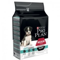 Pro Plan Puppy Medium OptiDigest Pollo