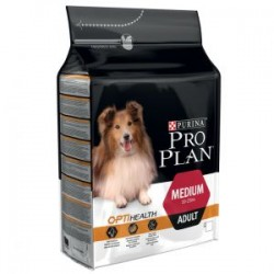 Pro Plan Medium Adult OptiHealth pollo y arroz