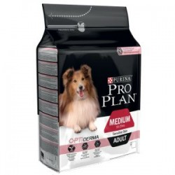 Pro Plan Medium Adult Sensitive OptiDerma salmón