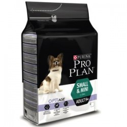 Pro Plan Small & Mini Senior Original 9+ OptiAge pollo