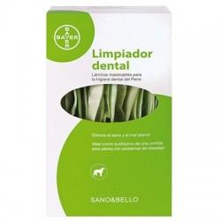 Limpiador de dientes para perros