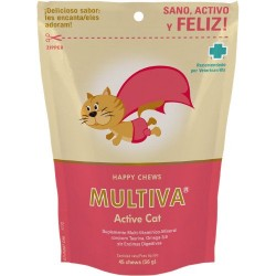 Suplemento vitamínico Multiva Active Cat para gatos
