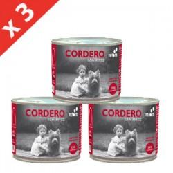 PACK 3 LATAS Retorn Cordero con Arroz comida natural para perros