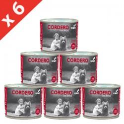 PACK 6 LATAS Retorn Cordero con Arroz comida natural para perros