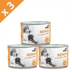 PACK 3 LATAS Retorn reno con judias verdes comida natural para perros