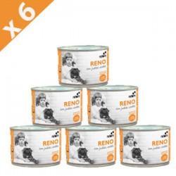 PACK 6 LATAS Retorn reno con judias verdes comida natural para perros
