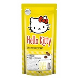 Snack Hello Kitty Pollo y Arandanos gatos