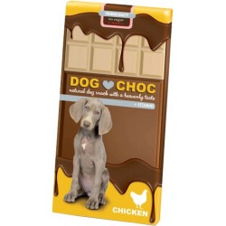 Tableta de chocolate Dog Choc Pollo
