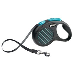 Correa Flexi design Azul para pasear