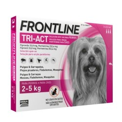 FrontLine Tri-Act  Protección Total 2 a 5  kg