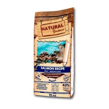 Natural Greatness Salmón para perros