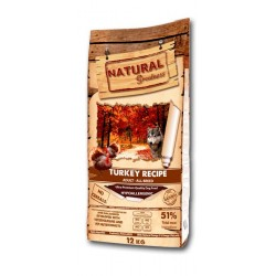 Natural Greatness Pavo para perros