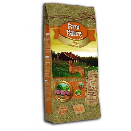 Farm Nature Adulto Pollo y Arroz
