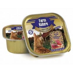 Lata Farm Nature Atún con Cangrejo Surimi gato