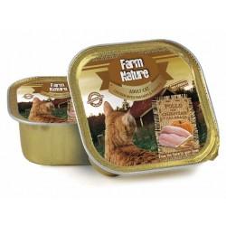 Lata Farm Nature pollo con chirivia y calabaza gatos