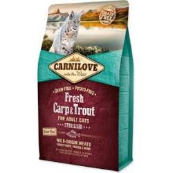 Carnilove Gatos Trucha y Carpa Fresca