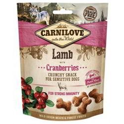 Snack Carnilove Crujiente Cordero y Arándanos