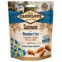 Snack Carnilove Crujiente salmón con arándanos perros