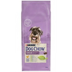 Dog Chow Senior Pollo +9